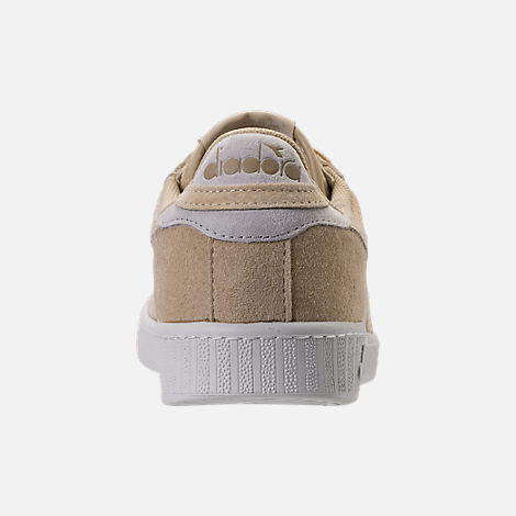 Back view of Men's Diadora Game L Low Casual Shoes in Beige Bleached