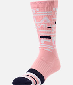 Unisex Fila Mixed Logo Crew Socks