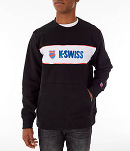 Men's K-Swiss My Swiss Fleece Crewneck Sweatshirt