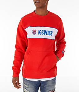Men's K-Swiss My Swiss Fleece Crewneck Sweatshirt