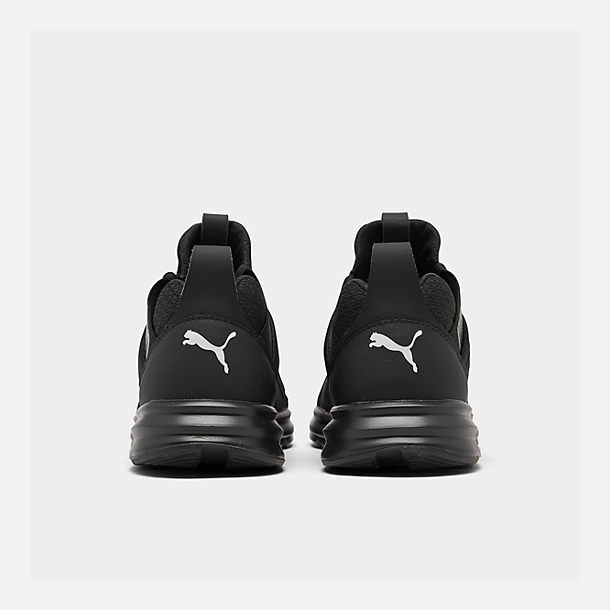 Left view of Men's Puma Enzo Casual Shoes in Black