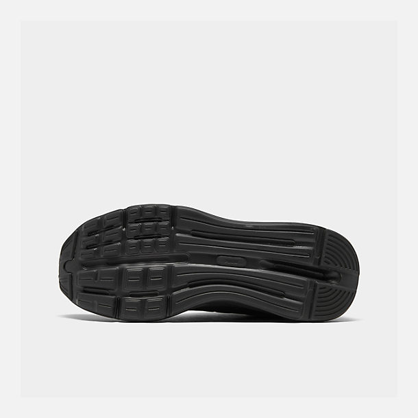Bottom view of Men's Puma Enzo Casual Shoes in Black
