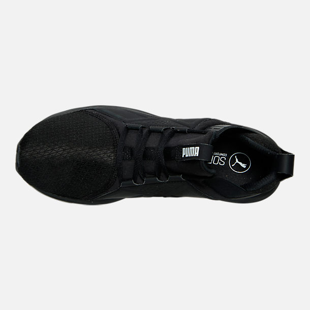 Top view of Men's Puma Enzo Casual Shoes in Black