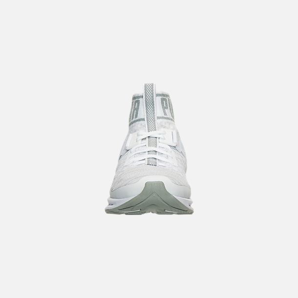 Front view of Women's Puma Ignite 3 EVOknit Casual Shoes