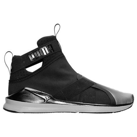 Women's Puma Fierce Strap Metallic Training Shoes
