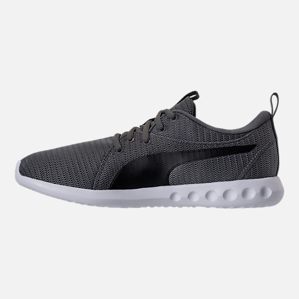 Left view of Men's Puma Carson 2 Casual Shoes in Quiet Shade/Puma Black