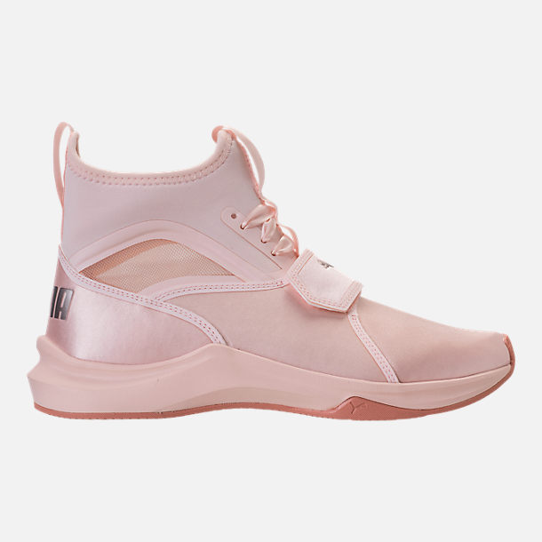 Right view of Women's Puma Phenom Satin EP Casual Shoes in Pearl/Pearl