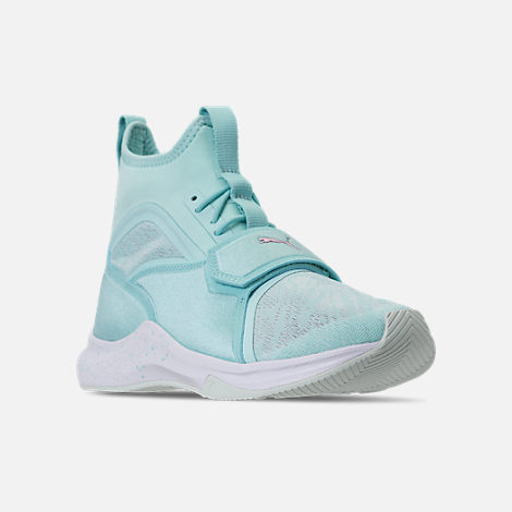 Three Quarter view of Women's Puma Phenom Oceannaire Casual Shoes in Island Paradise