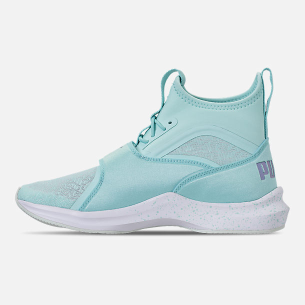 Left view of Women's Puma Phenom Oceannaire Casual Shoes in Island Paradise