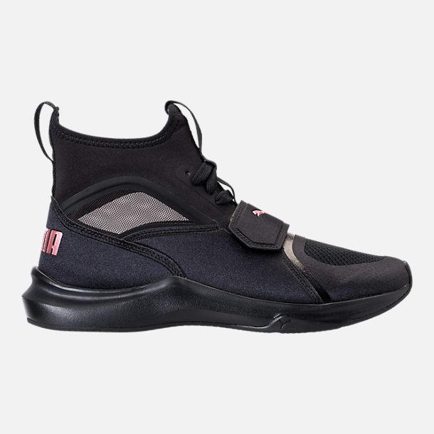 6db8e52e4bba Right view of Women s Puma Phenom Casual Shoes in Puma Black