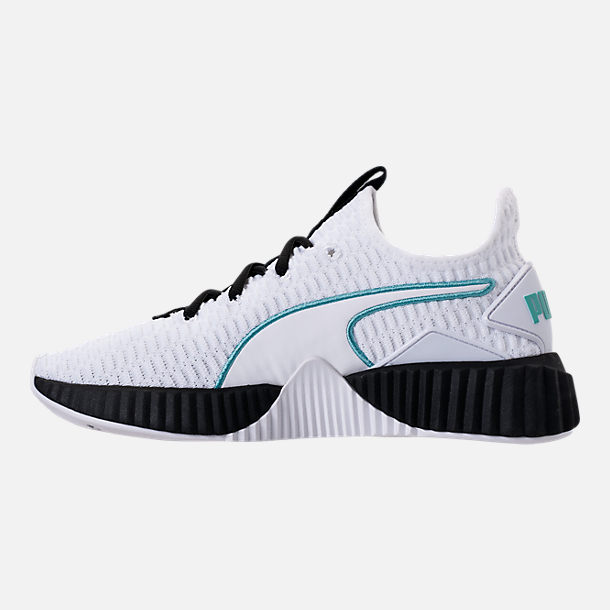 Left view of Women's Puma Defy Casual Shoes