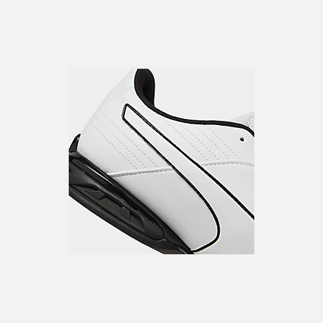 Front view of Men's Puma Super Levitate Running Shoes in White/Black