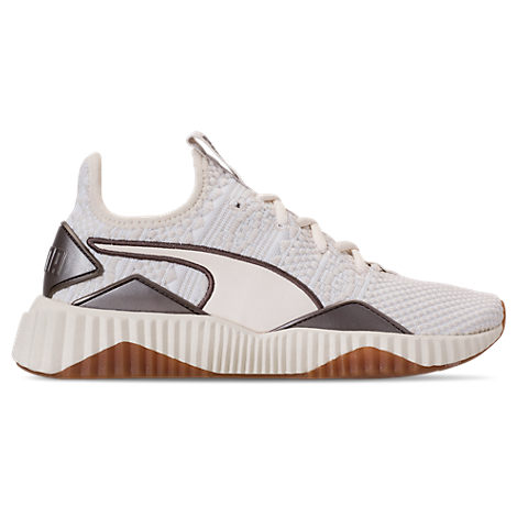 Women'S Defy Luxe Casual Shoes, Black in White from Finish Line