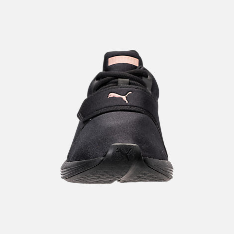 Front view of Women's Puma Prodigy Training Shoes in Puma Black/Rose Gold