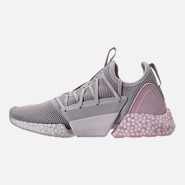 Left view of Women's Puma Hybrid Rocket Runner Casual Shoes in Glacier Grey/Winsome Orchid/White