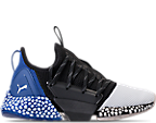 Puma White/Puma Black/Strong Blue