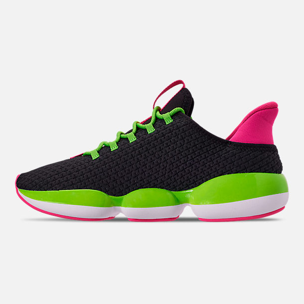 Left view of Women's Puma Mode XT Casual Shoes in Black/Lime Punch/Fuchsia Purple