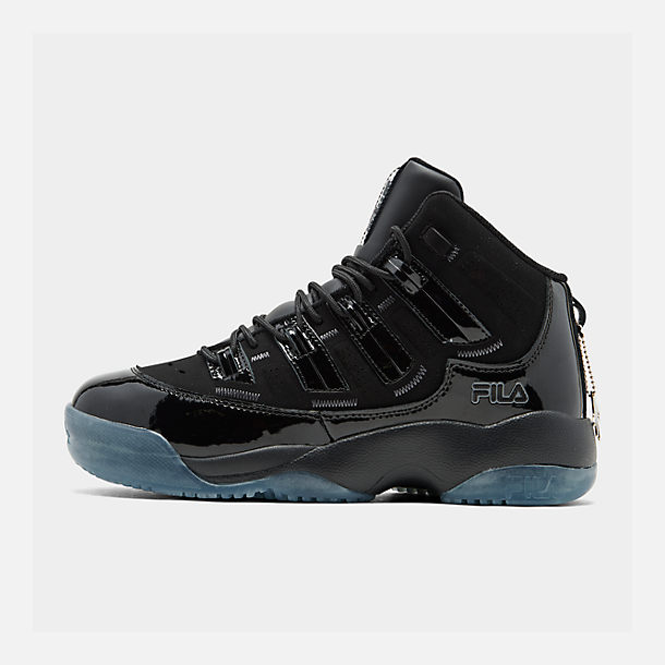 info for 9afad c9d4c Right view of Men s Fila Skyraider IV Basketball Shoes in Black Black Black
