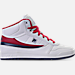 White/Footwear Navy/Red