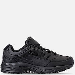 Men's Fila Memory Workshift Slip Resistant Wide Width Casual Shoes