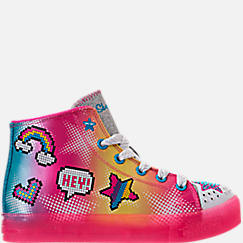 Girls' Preschool Skechers Twinkle Toes: Twinkle Brights Light-Up Casual Shoes