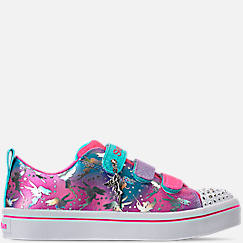 Girls' Little Kids' Skechers Twinkle Toes: Twi-Lites Fairy Wishes Light-Up Casual Shoes