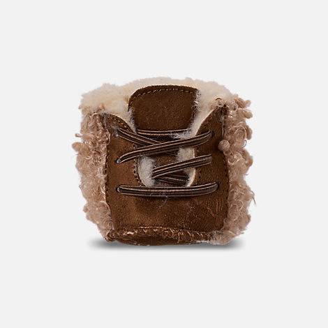 Back view of Girls' Infant Bearpaw Kaylee Boots in Taupe