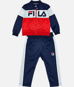 Boys' Toddler Fila Classic Track Set