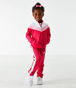 Girls' Toddler Nike Tricot Track Jacket and Pants Set