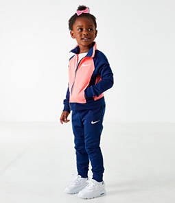 Girls' Toddler Nike Colorblock Tricot Track Jacket and Pants Set
