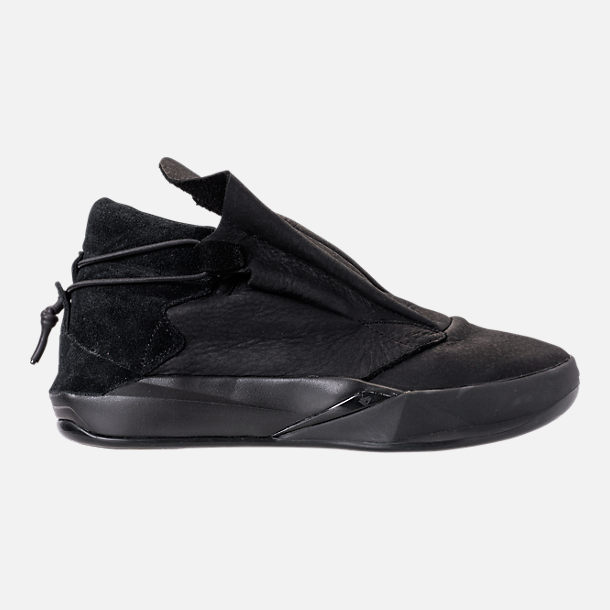 Right view of Men's BrandBlack Future Legend Boot Casual Shoes in Triple Black