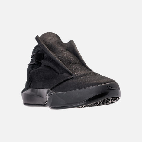 Three Quarter view of Men's BrandBlack Future Legend Boot Casual Shoes in Triple Black