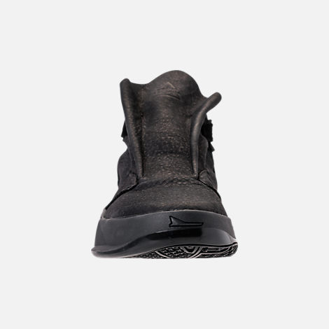 Front view of Men's BrandBlack Future Legend Boot Casual Shoes in Triple Black