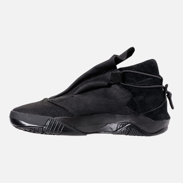 Left view of Men's BrandBlack Future Legend Boot Casual Shoes in Triple Black