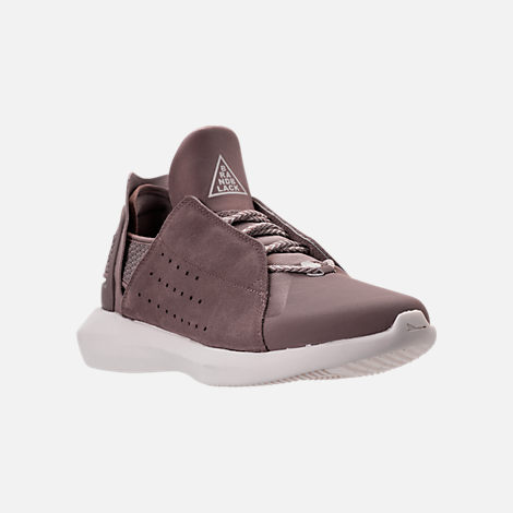Three Quarter view of Men's BrandBlack Gambetto Off-Court Shoes in Mauve