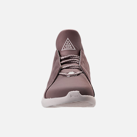 Front view of Men's BrandBlack Gambetto Off-Court Shoes in Mauve