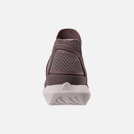 Back view of Men's BrandBlack Gambetto Off-Court Shoes in Mauve