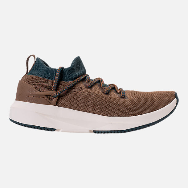 Right view of Men's BrandBlack Kaze Runner Casual Shoes in Brown/Blue/Cream