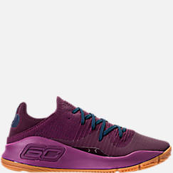 Men's Under Armour Curry 4 Low Basketball Shoes