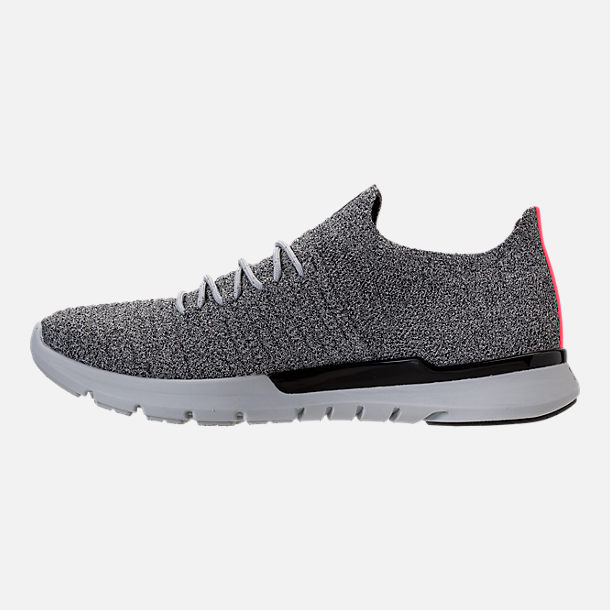 Left view of Men's Under Armour Slingwrap Phase Running Shoes in Black/Overcast Grey/Black