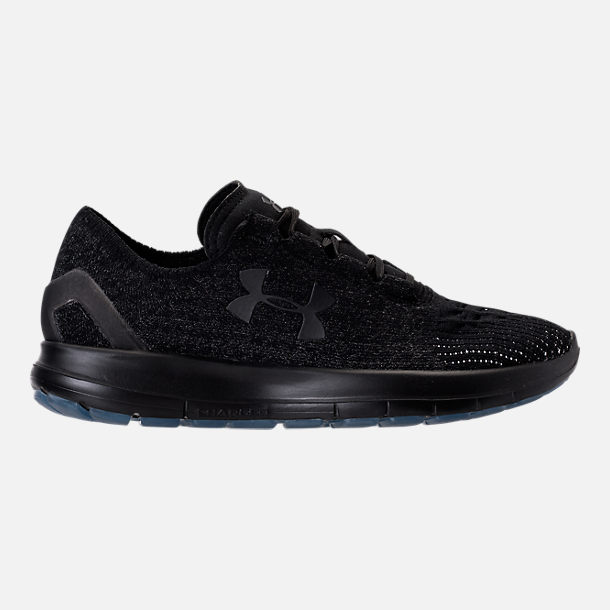 Right view of Women's Under Armour Slingride Running Shoes in Black