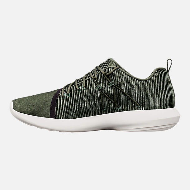 Left view of Men's Under Armour Charged All-Day Casual Shoes in Nori Green/Black/Metallic Iron