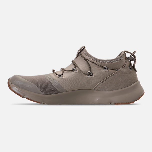 Left view of Boys' Grade School Under Armour Cinch x NM3 Running Shoes in Autumn Tan/Stone