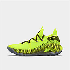new style 63d54 5df07 Big Kids  Under Armour Curry 6 Basketball Shoes. 1  2