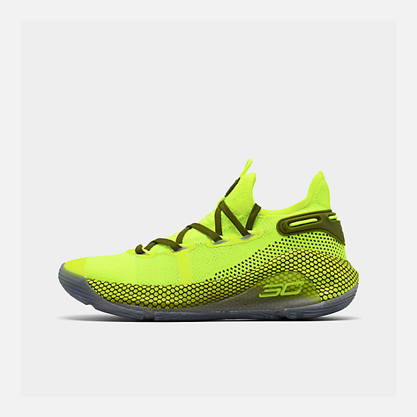 los angeles 0983f 2254f Big Kids' Under Armour Curry 6 Basketball Shoes