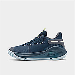 Little Kids' Under Armour Curry 6 Basketbal Shoes