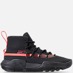 Boys' Grade School Under Armour SC 3ZERO II Basketball Shoes