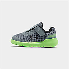 Boys' Toddler Under Armour Surge AC Hook-and-Loop Closure Running Shoes