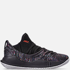 Big Kids' Under Armour Curry 5 Basketball Shoes