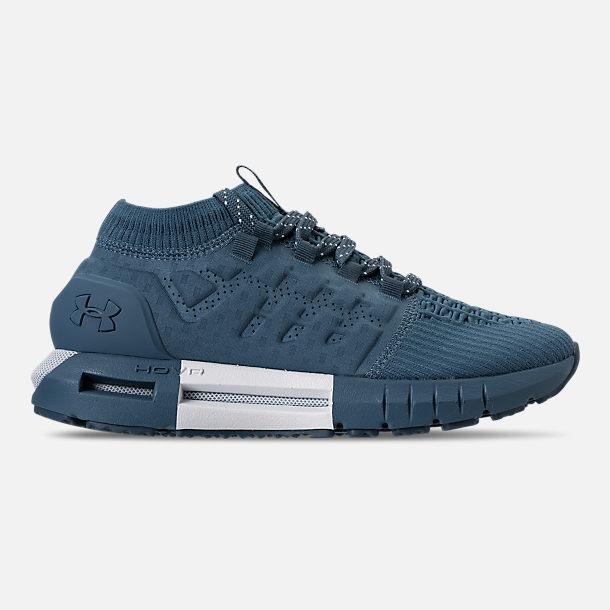 Right view of Men s Under Armour HOVR Phantom Running Shoes in Static  Blue White b3e006d504
